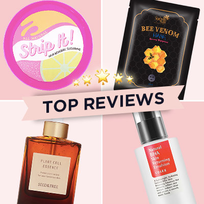 Top Reviews This Week: COSRX, Seed & Tree, and More!