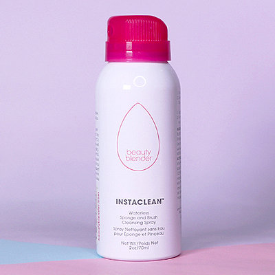 Too Lazy to Wash Your Brushes? This Stain-Lifting Dry Spray is Your New BFF