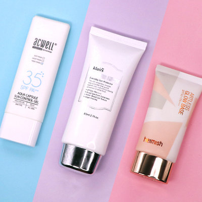 3 Korean Sunscreens that Triple as SPF, Moisturizer, and Primer