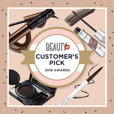 Customer's Pick: The 20 Best Reviewed Brow Products of 2018