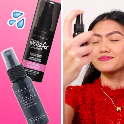 8-Hour Wear Test: We Tried 2 Different Setting Sprays on Oily Skin