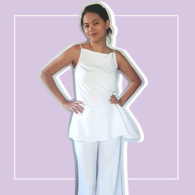What Happened When a Clumsy Girl Wore All-White for Four Days
