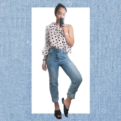 A Girly Girl Wears the Pants—Literally!