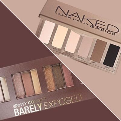 Splurge vs. Save: The Nude Eyeshadow Palette Edition