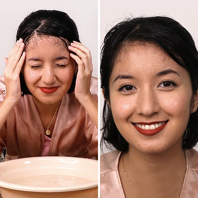 """Could This """"Rain Proof"""" Makeup Routine Pass The Underwater Test?"""