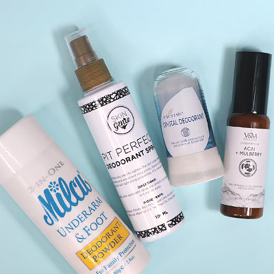 4 All-Natural Local Deodorants to Shop for Every Budget