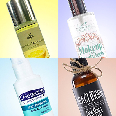 4 Awesome Local Sprays That Will Change Your Beauty Game