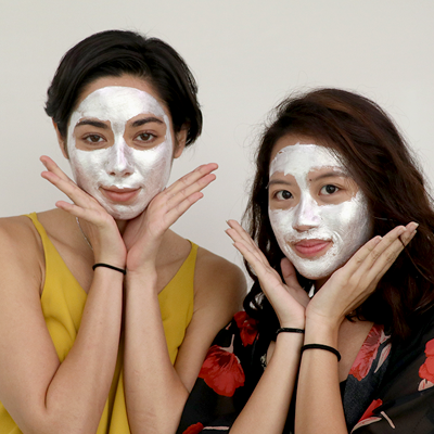 We Tried a Silver Face Mask and It Made Us Glow