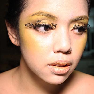 Halloween How-To: Effie Trinket's Butterfly Makeup