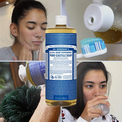 Watch: 14 Ways to Use Dr. Bronner's Liquid Soap