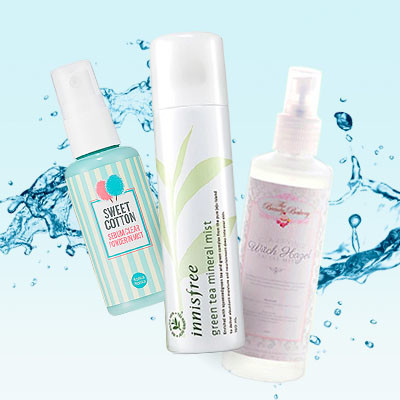6 Face Mists to Make You Feel Fresh