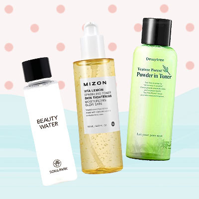 5 Korean Toners That Tone Down Breakouts
