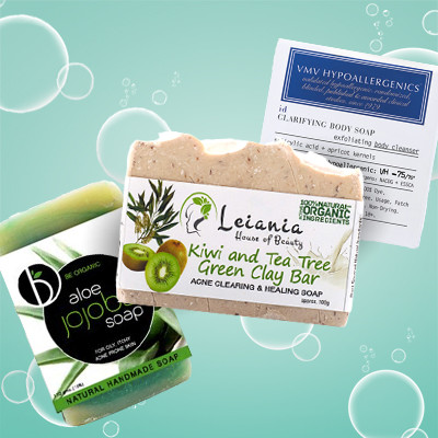 5 Soaps That Clear Acne All Over