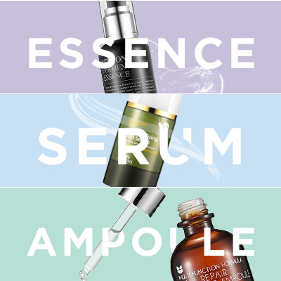 Essences, Serums, and Ampoules: What's the Difference?