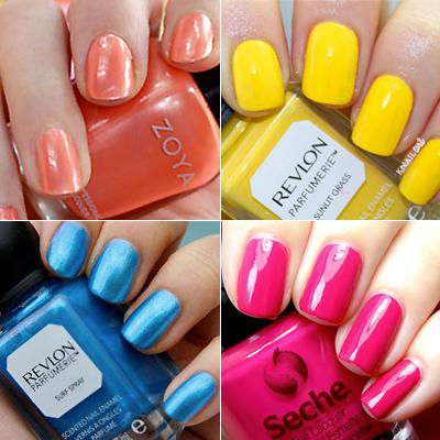 9 Irresistible Nail Colors for Summer 2016