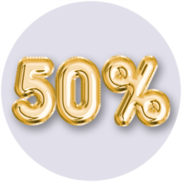 50% Off and Up