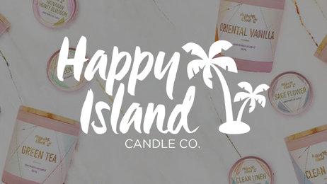 Banner  happy island