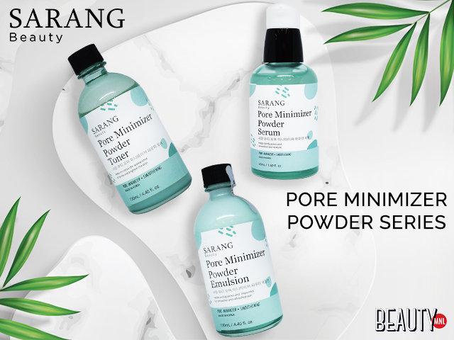 Sarang beauty carousel beautymnl pore minimizer powder series