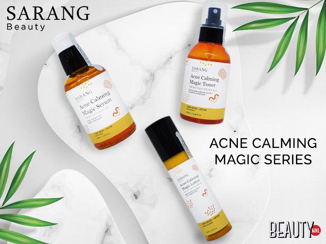 Sarang beauty carousel beautymnl acne calming magic series