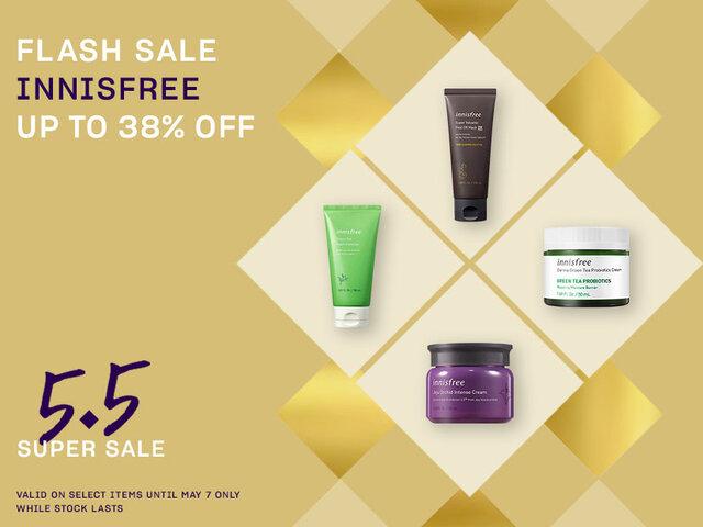 Mobile 5.5 flash deals innisfree