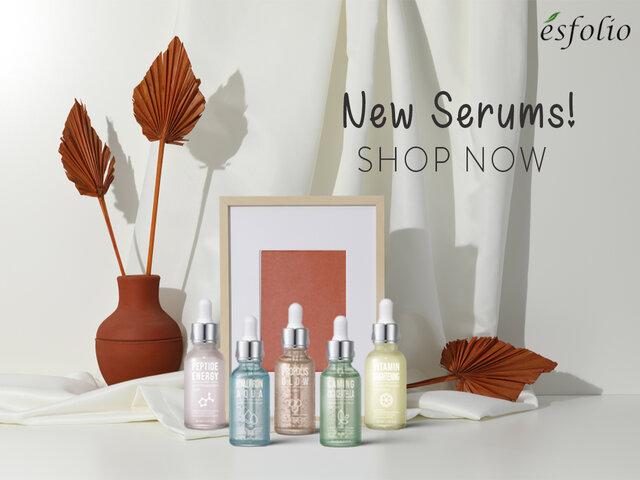 Brand page carousel mobile serum