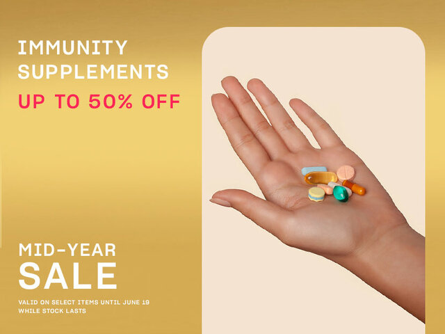 Mobile mid year sale pocket events immunity supplements