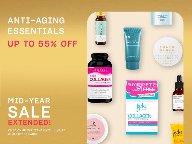 Anti aging essentials on sale mob