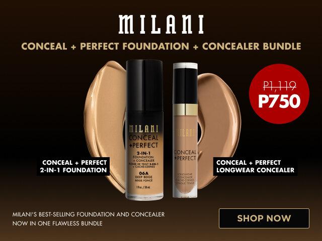 Milani c p foundation   concealer bundle   carousel