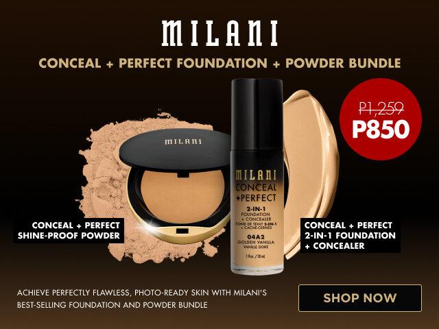 Milani c p foundation   powder bundle   carousel