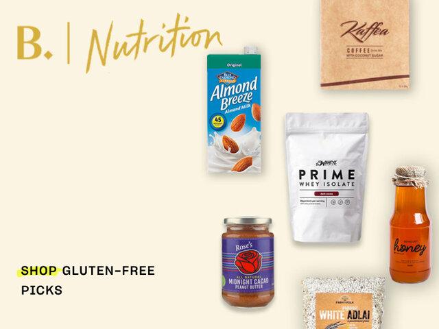 M nutrition gluten free