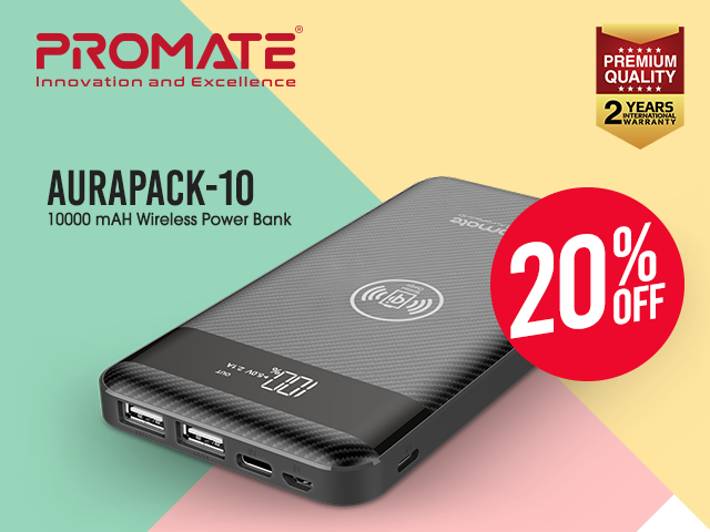 Promate btymnl aurapack 10 mobile carousel 640 x 480
