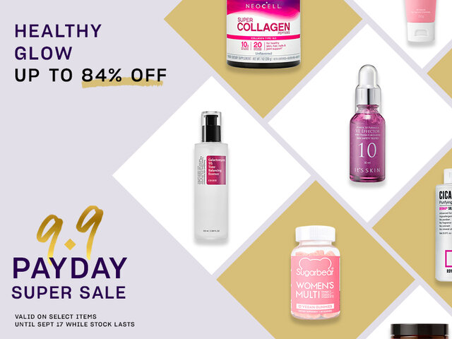 Mobile payday super sale pocket events healthy glow