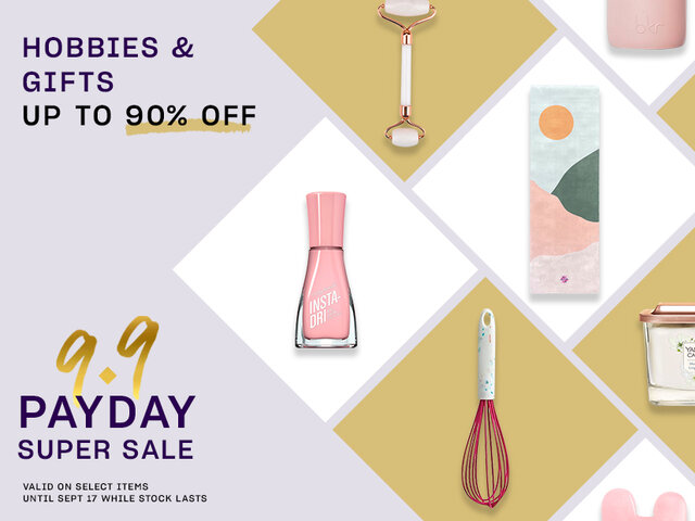 Mobile payday super sale pocket events hobbies and gifts