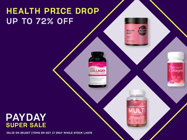 Health price drop mob