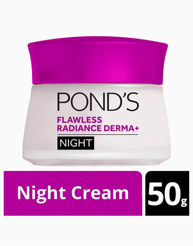 Flawless Radiance Derma+ Night Cream 50g by Pond's