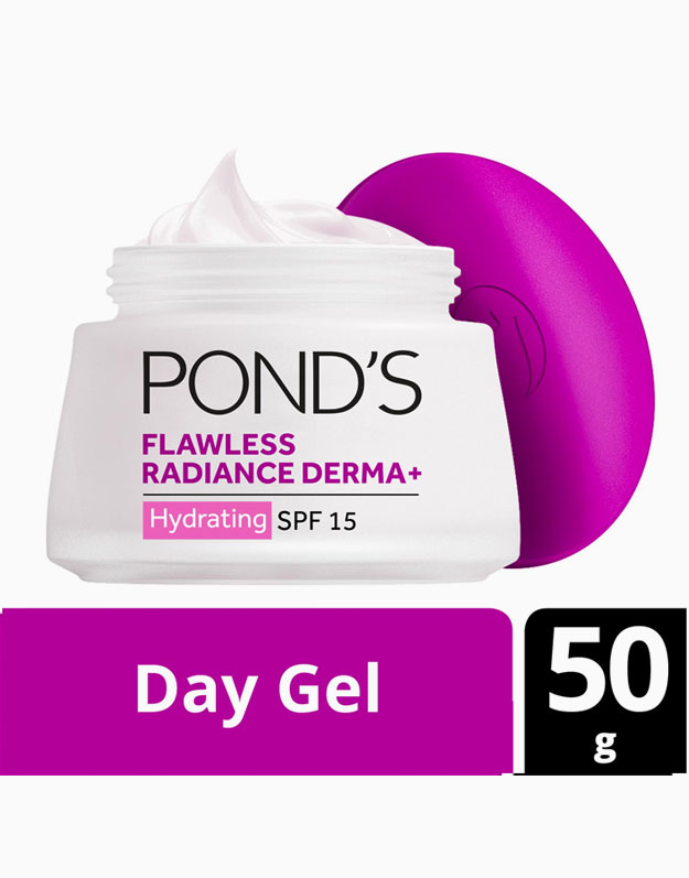 Flawless Radiance Derma+ Hydrating Day Gel 50g by Pond's