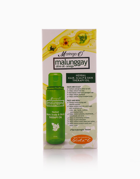Hair, Scalp, and Skin Therapy Oil (55ml) by Moringa-O2