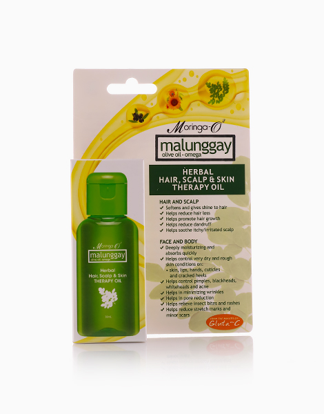 Hair, Scalp, and Skin Therapy Oil (30ml) by Moringa-O2