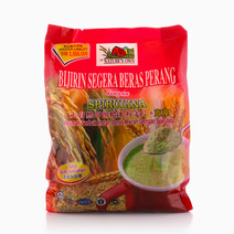 Instant Brown Rice Cereal with Spirulina (No Added Sugar)  (1 pack x 12 sachets x 30gm) by Nature's Own