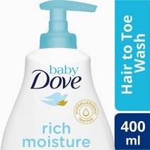 Rich Baby Wash (400ml) by Baby Dove