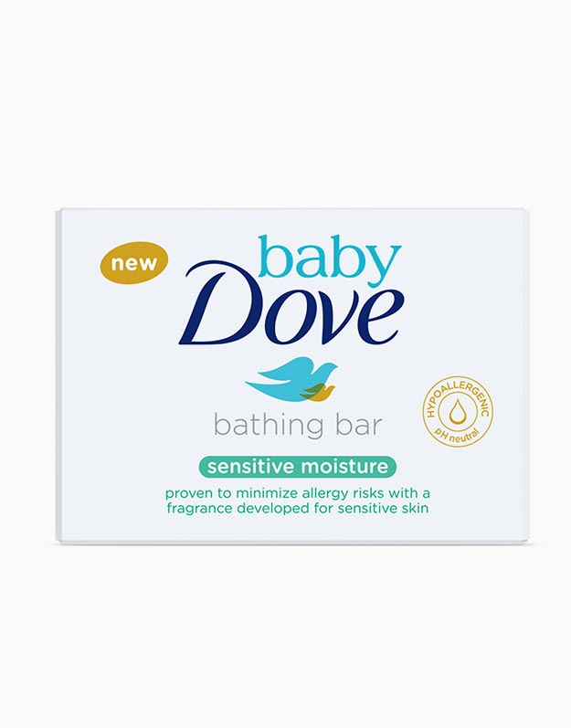 Baby Dove Bathing Bar Sensitive Moisture 75g by Baby Dove