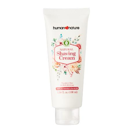 Natural Shaving Cream for Women by Human Nature