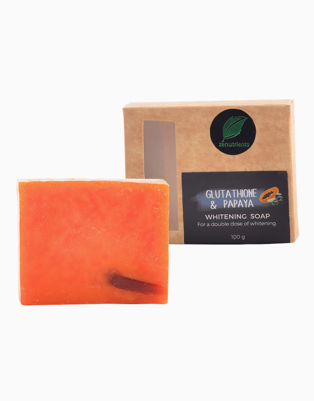 Whitening Glutathione & Papaya Soap by Zenutrients