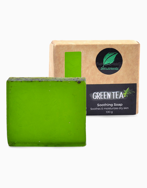 Soothing Green Tea Soap by Zenutrients
