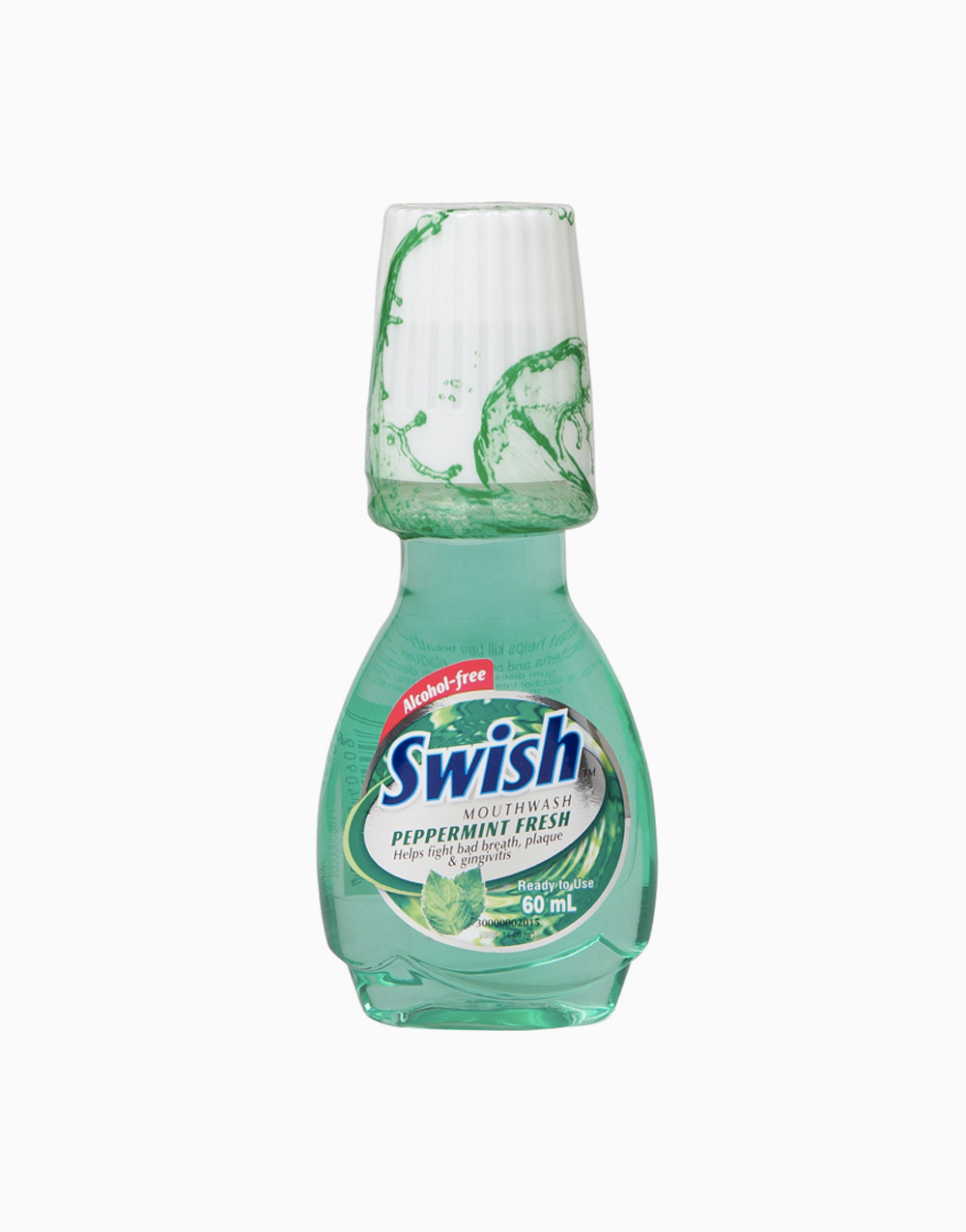 Swish Mouthwash (60ml) by Swish | Peppermint Fresh