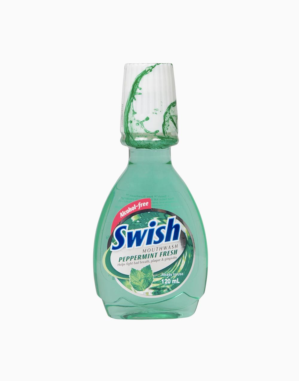 Swish Mouthwash (120ml) by Swish   Peppermint Fresh