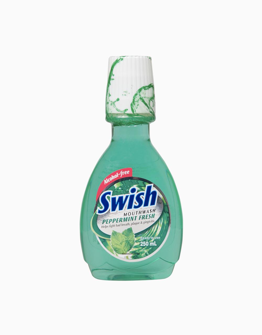 Swish Mouthwash (250ml) by Swish | Peppermint Fresh