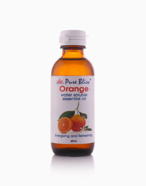 Water Soluble Oil (60ml) by Pure Bliss   Orange