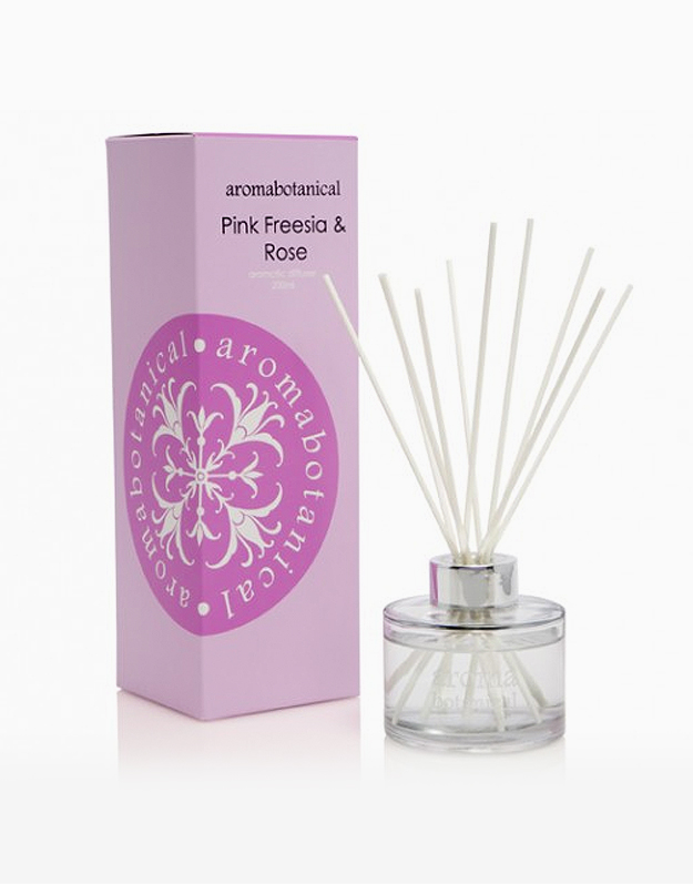 Reed Diffuser by Aromabotanical Philippines | Pink Freesia and Rose