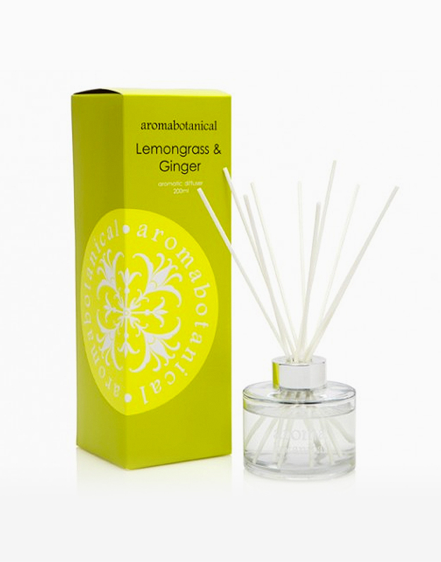 Reed Diffuser by Aromabotanical Philippines | Lemongrass and Ginger